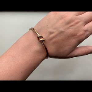 kate spade Rose Gold Knot Bracelet